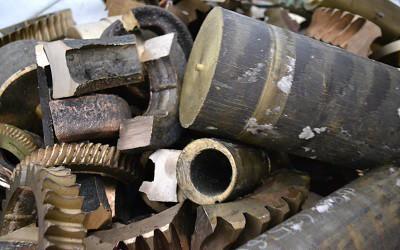 Фото бронзового металлолома
