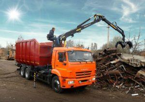 Фото вывоза металлолома в Калининграде